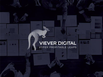 Viever Digital marketing consulting branding logos logo