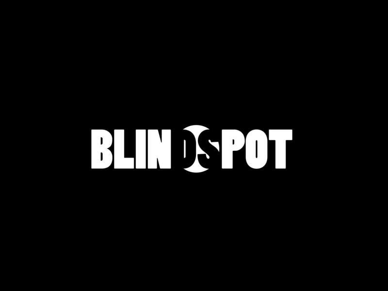 Blindspot Logo advance data technology tech type vector logo illustration flat icon design branding