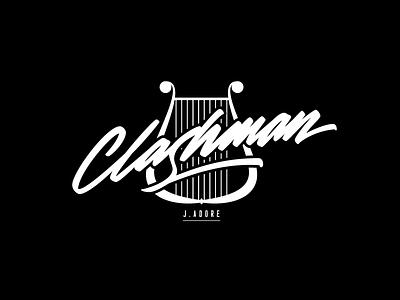 Clashman vector pen tool wacom ai illustration handwriting paint brush cursive calligraphy lettering logotype logo