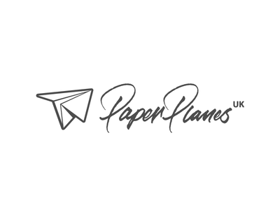 PaperPlanesUK vector pen tool wacom ai illustration handwriting paint brush cursive calligraphy lettering logotype logo