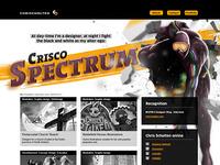 Chrisscholten.com Webdesign Update