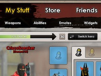 Battlefield Heroes UI Redesign