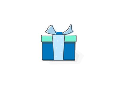 A Gift illustration box gift
