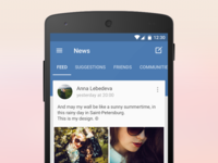 VK for Android 5.0