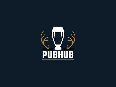 PubHub Logo drink beer brand logo ios app