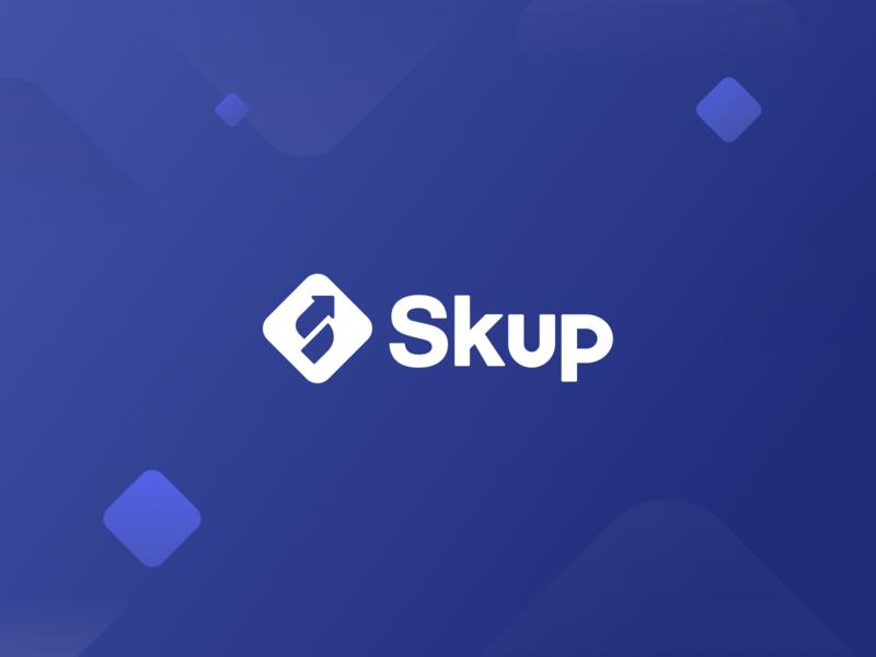 Skup Logo shopify ecommerce logo branding