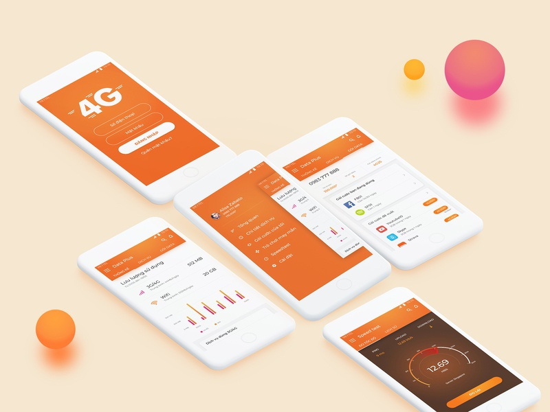 Data Plus app ux ui