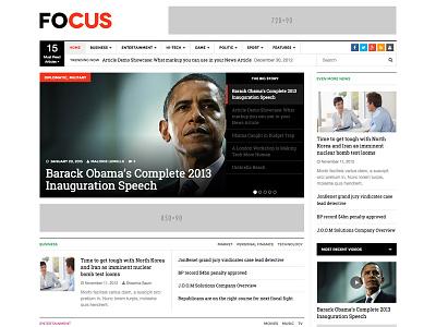 News WordPress Theme - DW Focus theme wordpress
