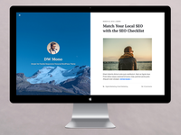 DW Mono WordPress Theme Preview