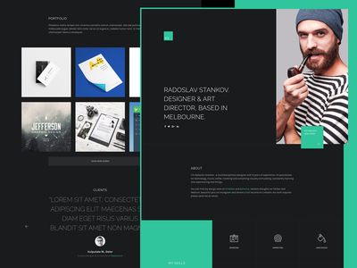 upcoming resume cv portfolio wordpress theme by jackie lord