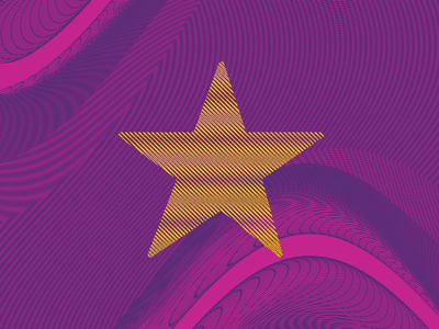Moiré Background Styleframe experimental star interference pattern background moiré