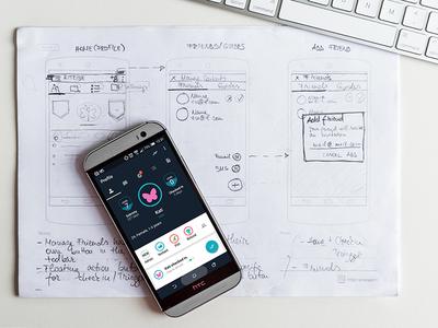 From wireframes to design