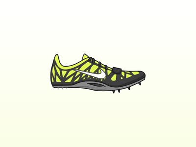 Spikes: Nike Zoom Superfly R3 gradient yellow neon olympics superfly zoom spikes running nike
