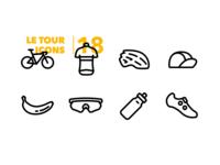 Le Tour Icons