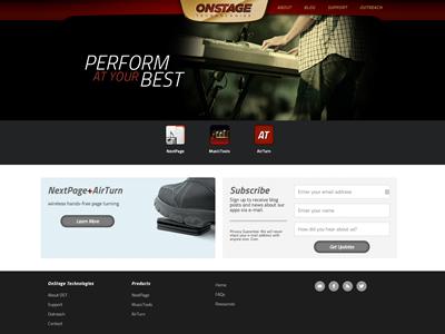 OnStage Technologies - WordPress wordpress blog website web design
