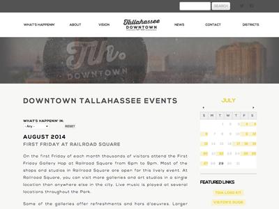 TallahasseeDowntown.com drupal 7