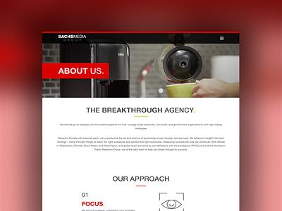SMG About foundation 6 wordpress web design web