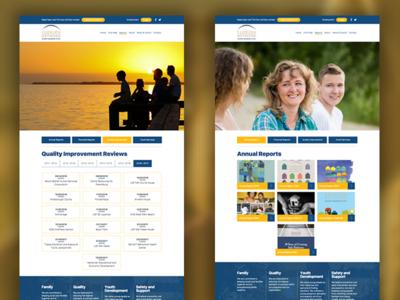 Fln Reports wordpress web design web ux user interface user experience ui theme