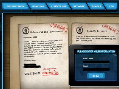 Mobile Game App website wordpress