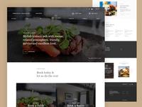 Pub Homepage Concept