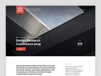 Design Conference Header