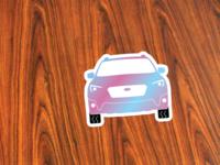 Holographic Crosstrek Sticker