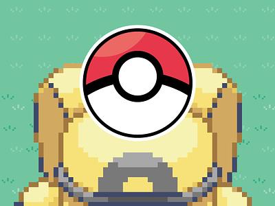 Pokeball custom stickermule magnet pokemon
