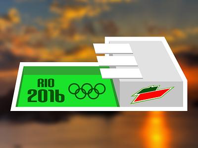 If PepsiCo. sponsored the Olympics dew mountain pepsi pool olympics contest mule sticker