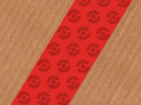 Pokeball Packing Tape