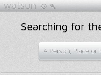 Codename Watsun web codename watsun search noise pictos maven maven pro light sherlock watson place person subtle find