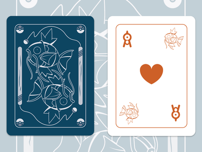 Magikarp Playing Cards fan project