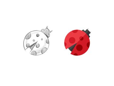 Bug Icon product icon icon sketch lady bug icon application icon bug flat icon icon