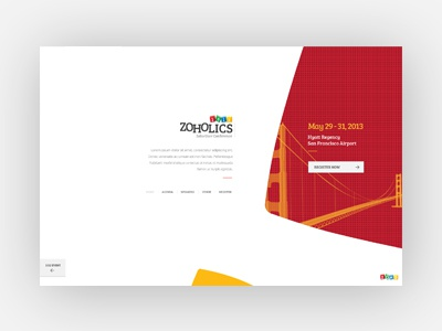 Zoholics 2013 - Zoho User Conference zoho zoholics2013