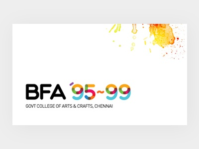 BFA 1995-1999 - Batch Logo Design