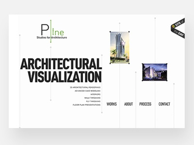 Plinestudios - Website - Site of the day - 2010