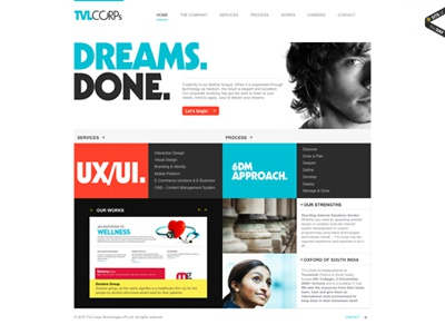 Tvlcorps - Website - Site of the day - 2010
