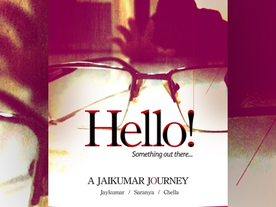 Hello - Short film Poster Design - 2015