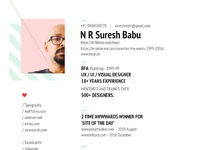Resume sureshbabu1