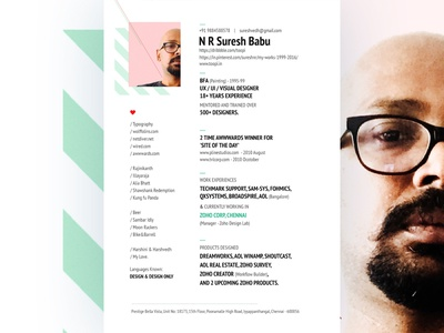 Resume Design resume designer modern resume resume design