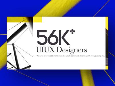 UI/UX Designers -Facebook's Largest Designer's Community designers fb group banner fbgroup designers community 56k banner design uiux designer