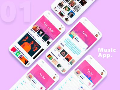 #01 Music App