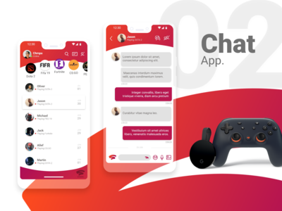 #02 Stadia Chat App