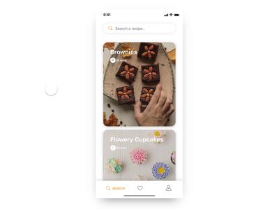 Recipes App UI