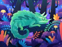 "Animal Conservation ""Reptile"" Illustration"