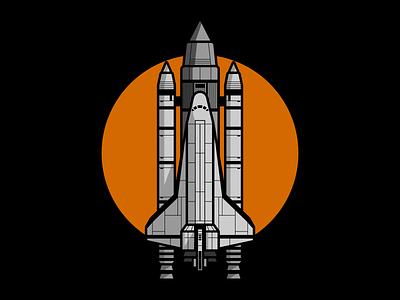 Space Shuttle exploration explore space exploration outerspace vectorart astronaut shuttle space shuttle rocketship rocket nasa spacex spaceship space