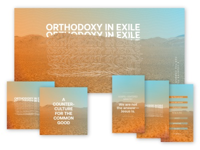 Orthodoxy in Exile: Collateral illustrator jesus christ church exile orthodoxy sermon art art