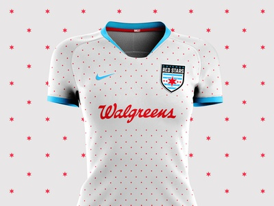 Chicago Red Stars Shirt Concept