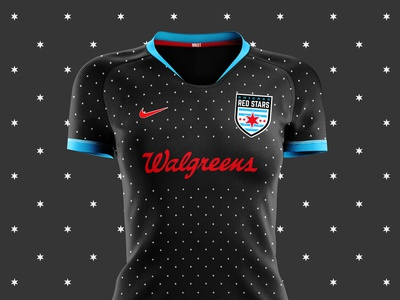 Chicago Red Stars Kit Concept - Starry Night Edition