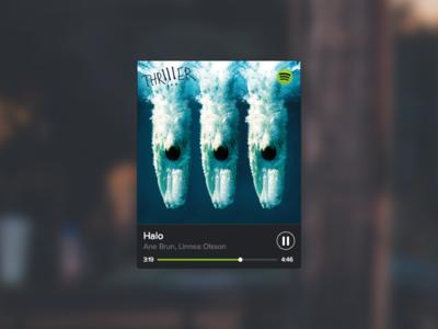 Spotify Widget