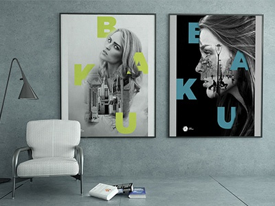 Baku graphic design art direction